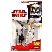 Star Wars Clone Wars 2009 Wave 10 Clone Commander Cody Action Figure