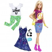 Barbie Fashionistas Doll Peace & Love DTD98