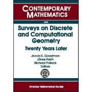 Surveys on Discrete and Computational Geometry by Jacob E. Goodman