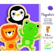Djeco / Wooden Magnet Play Set Hello Animals