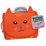 The Picnic Lunch Box & Placemat - Carmen el Gato (Neat-Oh! A1513XX)