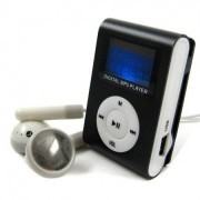 Diel MP3-spelare med radio - Svart, 4GB