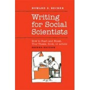 Writing for Social Scientists (1 Volume Set) by Pamela Richards
