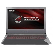 "Asus ROG G752VT-GC049D Intel Core i7-6700HQ/17.3""FHD AG/16GB/256GB/GTX960M-2GB/DVD-RW/Fee DOS/Grey"