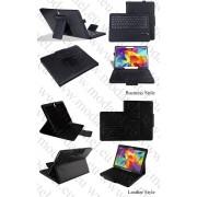 Samsung Galaxy Tab S 10.5 T800 T805 Кожен калъф + Клавиатура Bluetooth