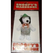 "Peanuts Snoopys Wardrobe for 11"" Plush Snoopy - German, Swiss, Tyrolean Outfit"