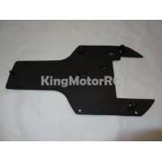 Generic King Motor Rear Plastic Buggy Under Guard, Skid Plate Fits HPI Baja 5B 2.0 SS