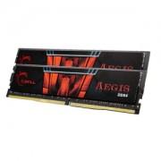 Memorie G.Skill Aegis 32GB (2x16GB) DDR4 2133MHz CL15 1.2V, Dual Channel Kit, F4-2133C15D-32GIS