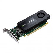 PNY VCQK1200DP-PB Nvidia Quadro K1200 Scheda Grafica Professionale, 4 GB, GDDR5, PCI-Express Low Profile 4K 4 x DP