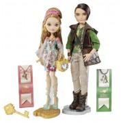 Mattel BBD48 Ever After High Ashlynn Ella and Hunter Huntsman Dolls