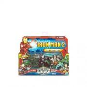 Iron Man 2 Super Hero Squad Mini Figure 3Pack Final Battle Iron Man Mark V Whipl