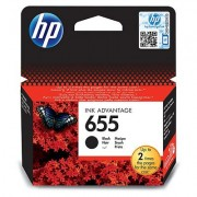HP 655 Black Deskjet Ink Cartridge (CZ109AE)