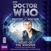 Doctor Who: Night of the Whisper (Destiny of the Doctor 9) by Cavan Scott