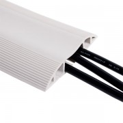 Dataflex Kabelbrug vloergoot licht grijs-1.5 meter