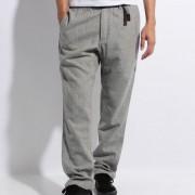 【セール実施中】【送料無料】WOOL NARROW PANTS ウールナローパンツ メンズ ロングパンツ GMP-16F013-GREY