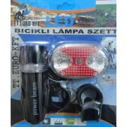 Bicikli lámpa szett 5+5 Led - TT Euro