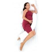 DreamGenii Maternity Pillow White