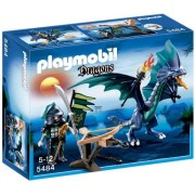 Playmobil - 5484 - Figurine - Dragon Avec Guerrier