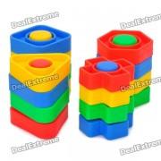 Tuerca de Desarrollo Intelectual y Kits perno roscado Toy Matching (32 Piece Pack)