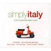 Artisti Diversi - Simply Italy (0698458245328) (4 CD)