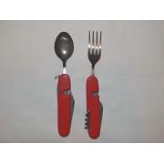 Комбиниран нож, лъжичка, виличка и др.