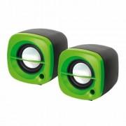 Sistem audio 2.0 Omega OG15G 6W GREEN