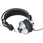 Casti Audio Classic on Ear cu Microfon Argintiu ANGLE & CURVE