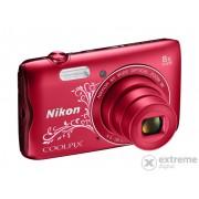 Aparat foto Nikon Coolpix A300, red