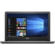 Laptop Dell Vostro 3568 15.6 inch HD Intel Core i3-7100U 4GB DDR4 128GB SSD FPR Windows 10 Pro Black