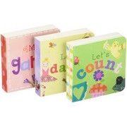 Jill McDonald Kids Set of 3 Little Chunky Books, Girly Girl
