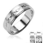 Inel Verigheta din Otel Inox RS-448