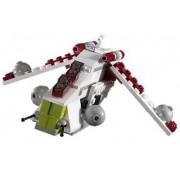 LEGO Star Wars 4490 Mini Republic Gunship - Mini helicóptero de combate de la República