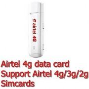 Airtel 4g Prepaid Data Card Support Only Airtel 4g/3g/2g Sim Card