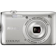 Nikon Coolpix A300 compactcamera, 20,1 megapixel, 8x optische zoom, 6,7 cm (2,7 inch) display
