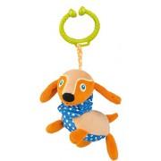 Vaya vibrante y Multi-textura suave larga y vibrante perro Pull-juguete de accesorios para los asientos del coche y silla de paseo