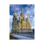 Educa Krisztus feltámadása templom, Szentpétervár puzzle, 1000 darabos