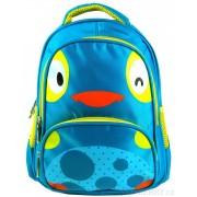 Dětský batoh L12001 modro-žluté kuřátko