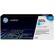 Original HP 307A / CE741A Cyan Toner Cartridge
