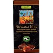 Ciocolata Bio Nirwana Neagra cu Trufandale Rapunzel 100gr