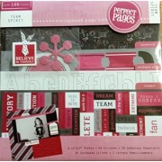 Team Spirit Perfect Pages 12-inch By 12-inch Scrapbook Page Kit