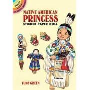 Native American Princess Sticker Paper Doll by Yuko Green