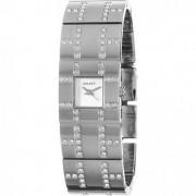 DKNY Quartz Silver Rectangle Women Watch NY3665 DKNY
