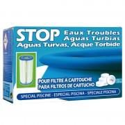 Stop aguas turbias (para filtros de cartucho) SATC6 102g