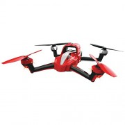 Traxxas 7908 Aton Quad-Rotor Helicopter with 2.4GHz Radio Action Camera Mount LiPo Battery Charger Red