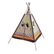 Knorrtoys.com 86559 - Tenda wigwam di Yakari, colore: Marrone