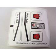 "Lego Original Sticker Sheet for Space Police III Set #5981 ""Raid VPR"""