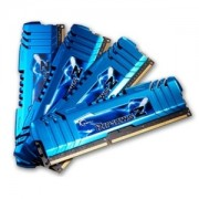 Memorie G.Skill RipJawsZ 32GB (4x8GB) DDR3 PC3-19200 CL11 1.65V 2400MHz XMP 1.3 Dual/Quad Channel Kit, F3-2400C11Q-32GZM