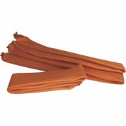 Wick Ups Portable Berms - 12-Pack, 10ft.L ea., Model WUB210-12, Orange