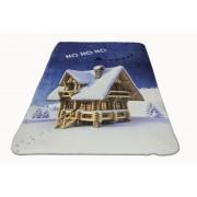 Одеяло df печат PNG ,Бяла коледа' 150/200 см