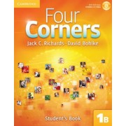 Four Corners 1B Student's Book B with Self-Study CD-ROM by Jack C. Richards